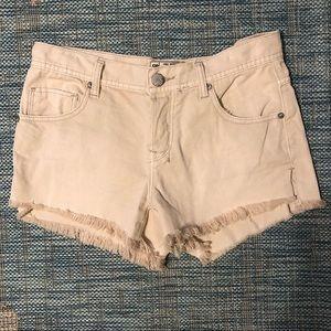 Free People High Waist Cut-off Shorts EUC